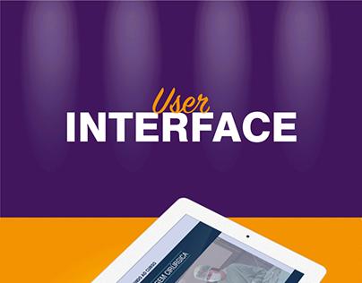 User Interface de Curso Online