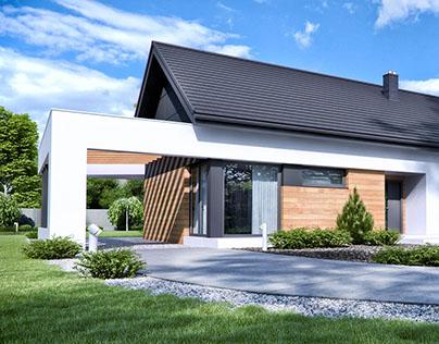 Projekt domu HomeKONCEPT 44