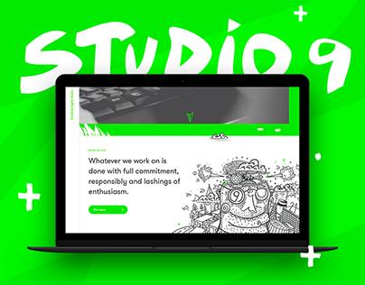 Studio 9 website