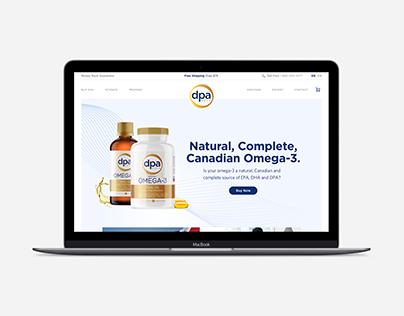 DPA Gold Website Design