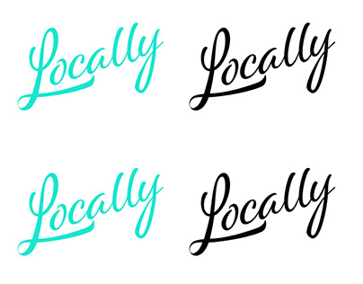Locally App Logo Design