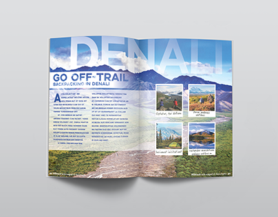 Travel Magazine Layout