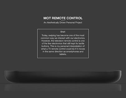 Personal Project: MOT Remote Control