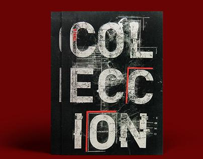 Colección/ Desplegable tipográfico
