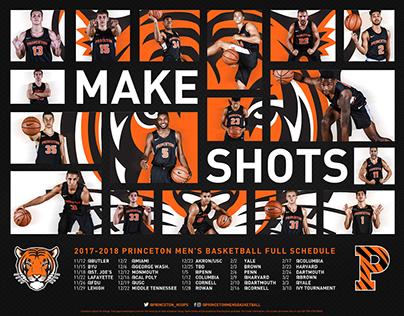 Princeton Men's Basketball 2017-2018 Social Media