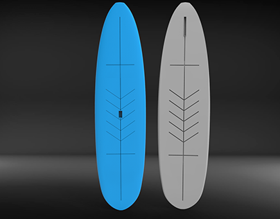 Paddle Board Design for Thermoforming