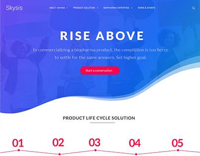 Skysis Website - ReDesign