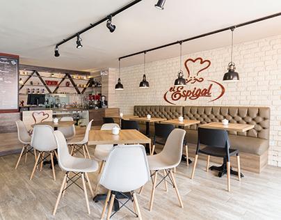 El Espigal Cafetería | Diseño Interior