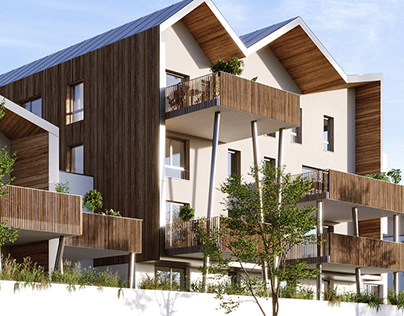 Collective Housing | CGI