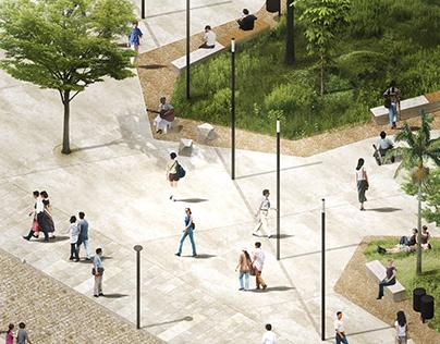 ✪ Requalificação Urbana para o centro de Conde |2018