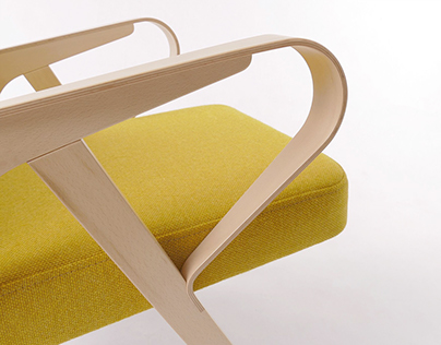 AURORA armchair for HUNIK DESIGN