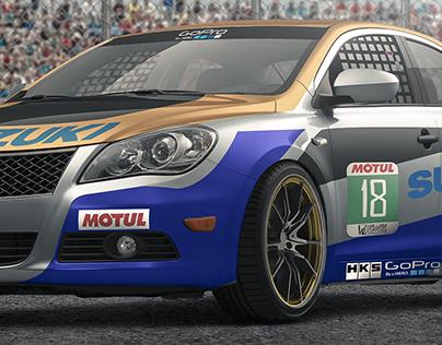 Suzuki Kisashi - Race Car Concept