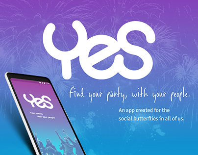 Mobile App Design: Yes the Event Finder + Planner