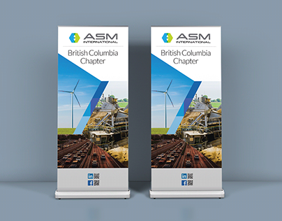 ASM International Tradeshow Banner