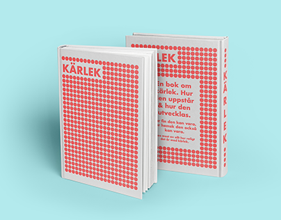 Book cover design - Kärlek