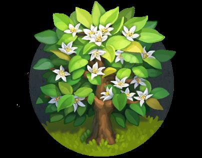 Game vegetation assets