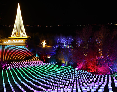 Luminaria 2016 Location:Ashton Gardens, Lehi, Utah