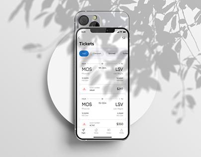 Skyline - Mobile App UX/UI