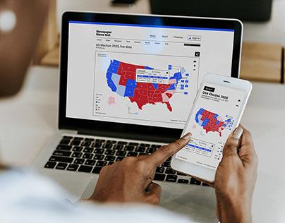 UX/UI - US Elections 2020