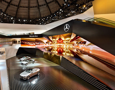 "IAA Mercedes Benz ""S-Class Great Experience Station"""
