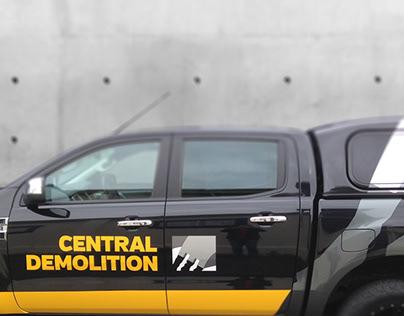 Central Demolition Vehicle Fleet Signage