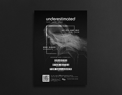 Techno & House Event Poster