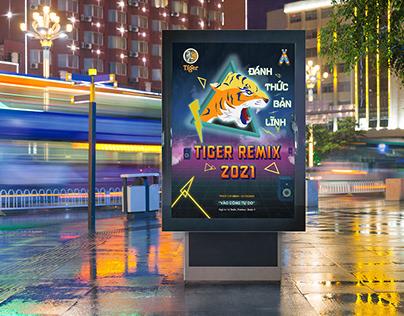 Tiger Remix Event | Poster