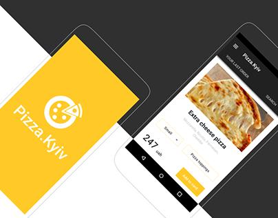 Pizza.Kyiv app UX/UI