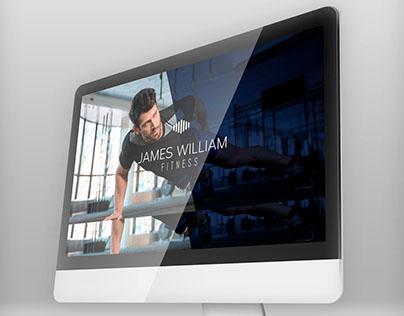 Proyecto corporativo y web para James William Fitness