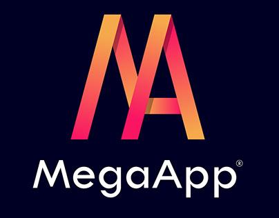 MegaApp Logo Design