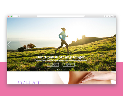 Physical Therapy Landing Page Design