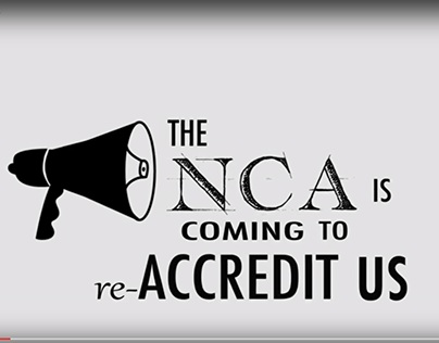 Video Announcement for Accreditation