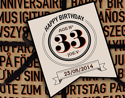 Package tickets for birthday