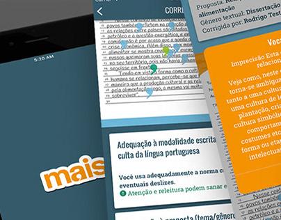 Curso Mais - site e aplicativo