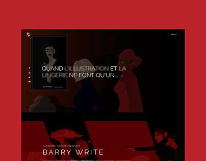 Barry Write — Website