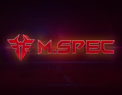 M.SPEC branding