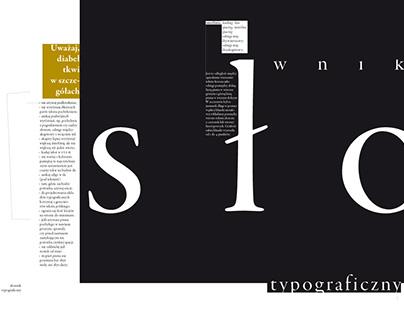 wydawnictwa o typografii w Polsce