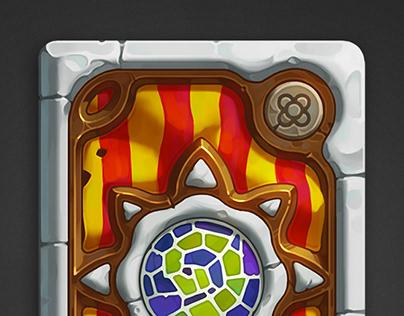 Hearthstone Barcelona card back