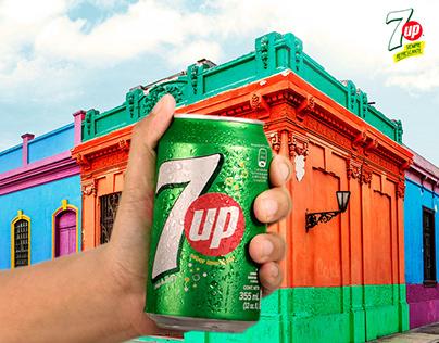 7UP - Momentos Refrescantes