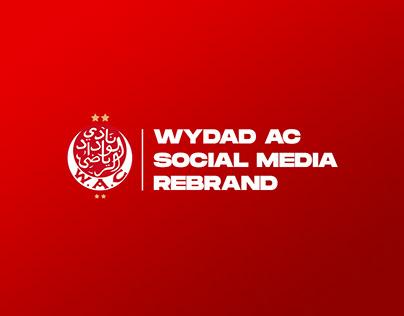WYDAD AC 21/22 Social Media | Rebrand