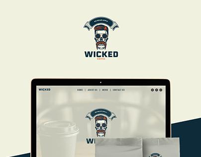 Wicked Coffee Branding