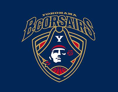 Yokohama B-corsairs brand identity [UPDATE]