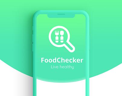FoodChecker - app design