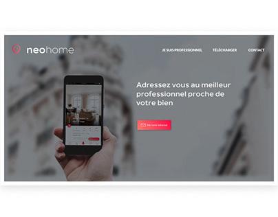 Neohome // Landing Page