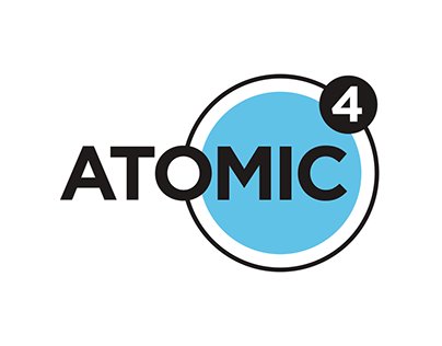 Diseño Logotipo Atomic4