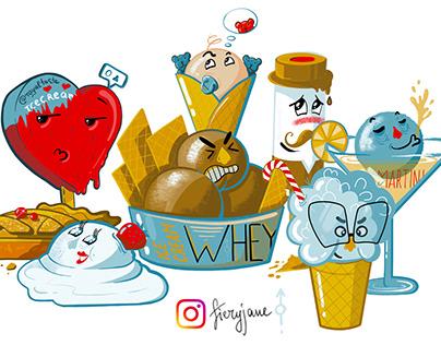 Ice-cream gang
