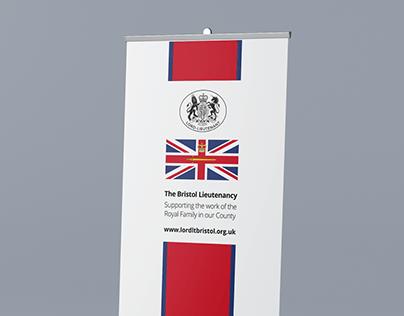 Roller Banner Design Lord Lieutenant of Bristol