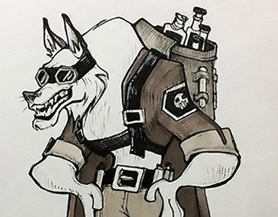 Characters for Inktober 2017