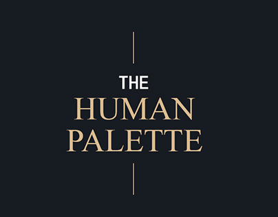 [PROJET UNIVERSITAIRE] The Human Palette