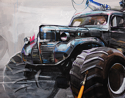 MAD MAX Painting